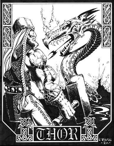 Тор - великий бог викингов